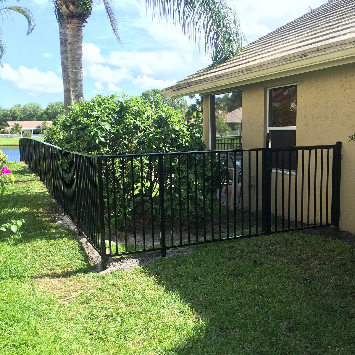 aluminum and metal fence work san jose california